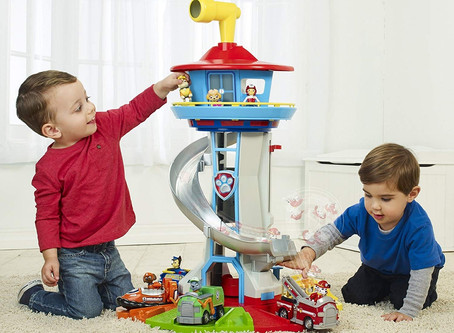 Paw Patrol, a huge observation tower