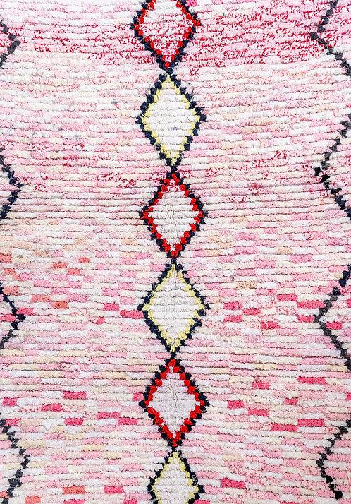 שטיח מרוקאי ורוד Bricks