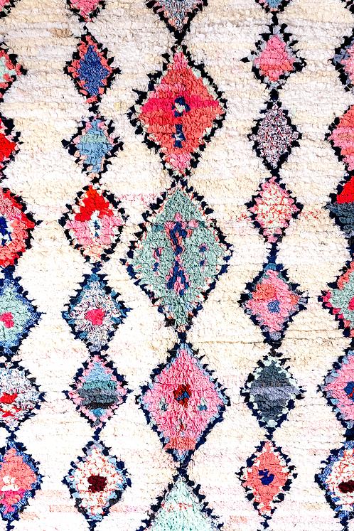 שטיח מרוקאי בעבודת יד Aqua