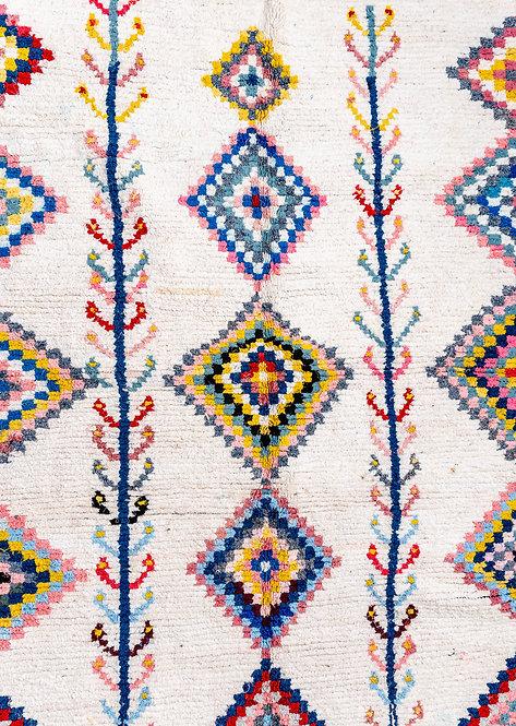 שטיח כותנה בעבודת יד Emmy