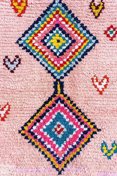 שטיח בושרוויט כותנה Marrakech Blush