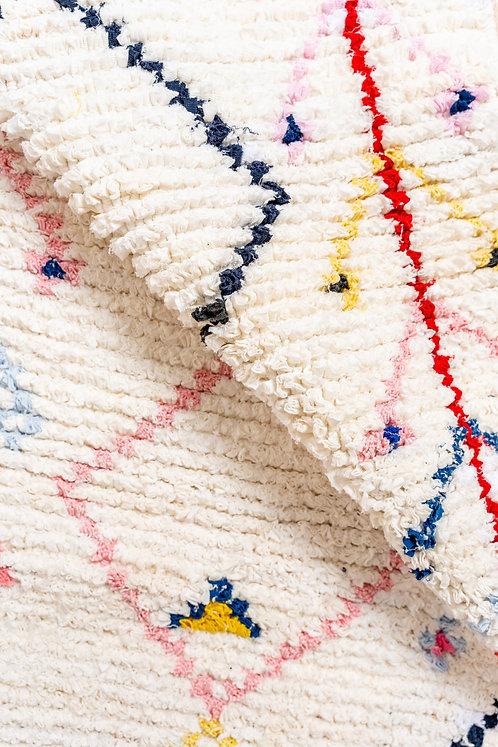 שטיח קטן בעבודת יד Fishy