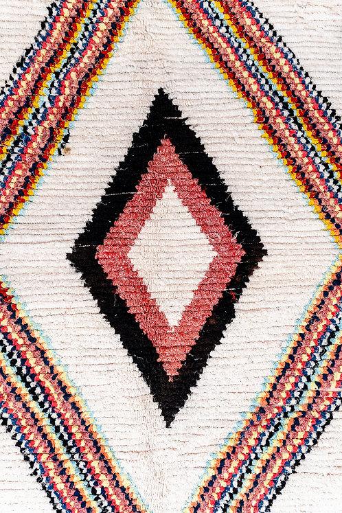 שטיח מרוקאי בעבודת יד Retro