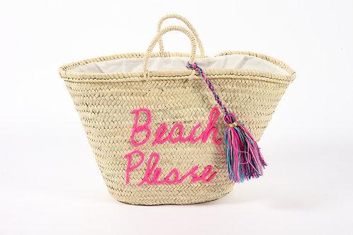 תיק קש Beach Please