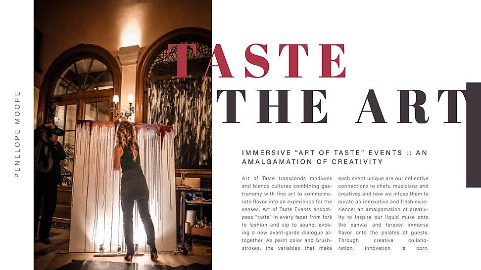 Adobe Presentation Art of Taste Pitch De
