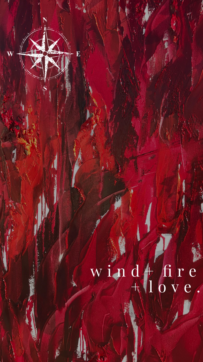 wind + fire + love: my muse | The Story Behind the Art: A force of nature and the power of love; com
