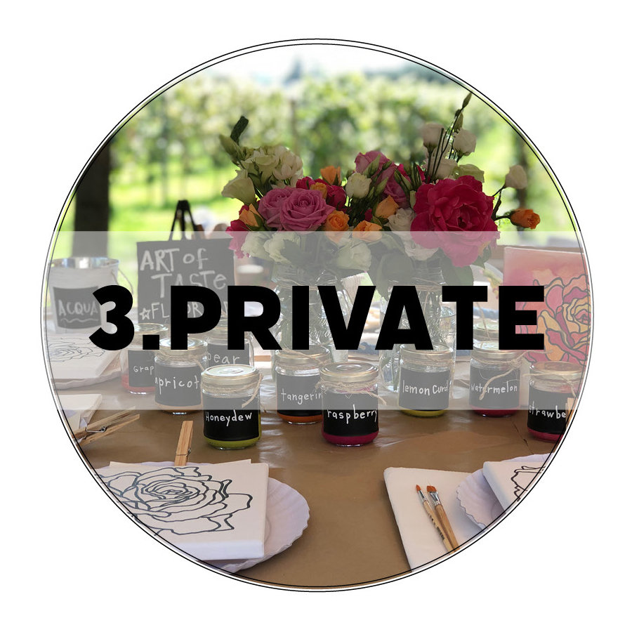 paint + sip party :: PRIVATE