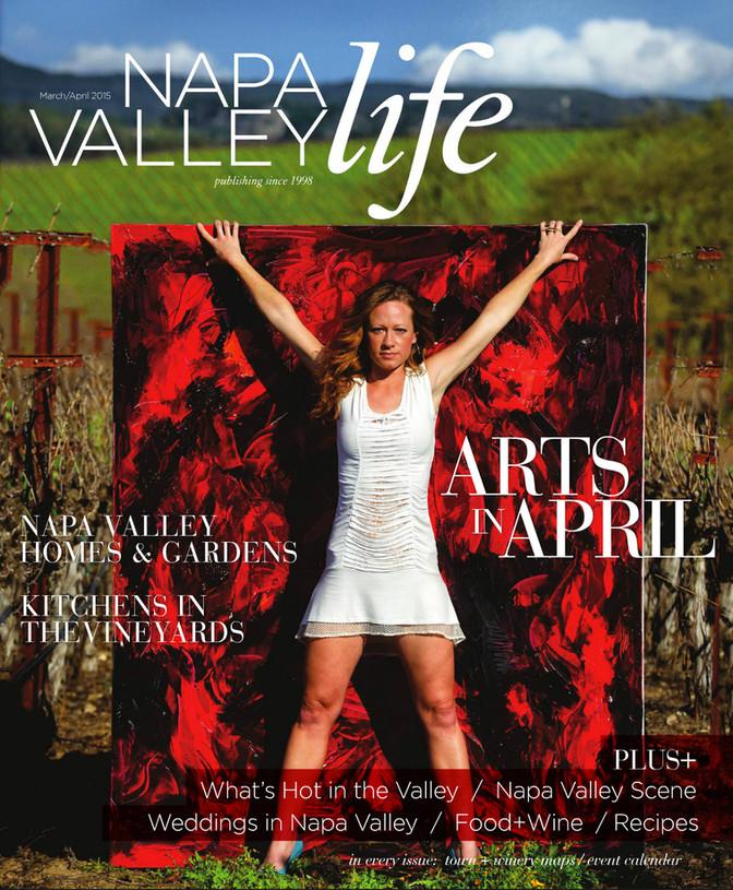 Napa Valley Life Magazine - Cover!