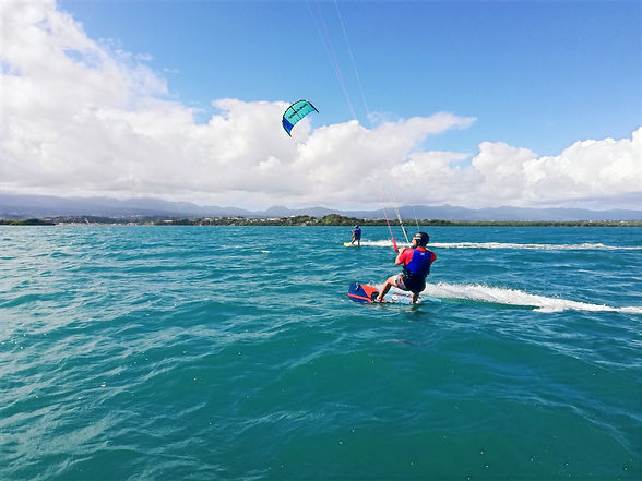 Stage kite 5 jours, Maximum Kite, Marina Bas-du-Fort, Gosier, Guadeloupe (réservation 06 47 25 76 35)