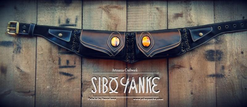 Leather Utility Belt+Festival Belt+Mokaite+Sibo yanke+Gemstone+C