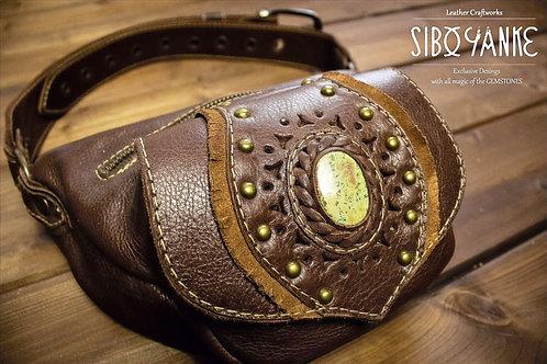 BUMBAG - CHRYSOCOLLA - Hip Belt -Waist Bag