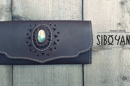 Leather Woman Wallet - Purse coin - Vegetable Tanned - Boho Wallet - Hip Walet