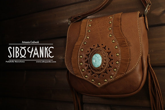 leather Bag+leather bohemian bag+ Boho Bag+ hip Bag+leather utility belt