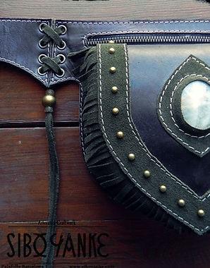 Leather UtilityBelt+FestivalBelt+Leather