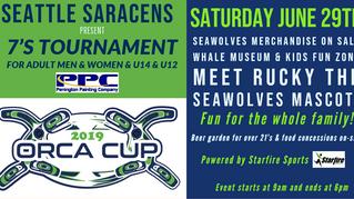 2019 Orcas Cup 7's Tournament