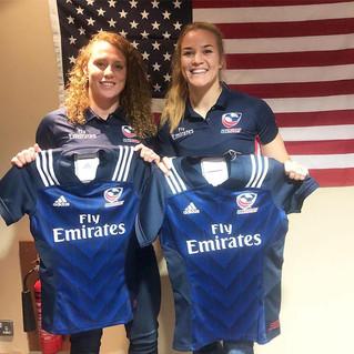 Jennine Detiveaux & Kristine Sommer Selected for USA Eagles V England