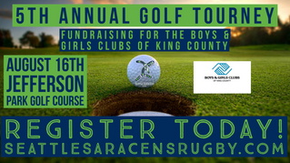 5th Annual Golf Tournament - August 16th