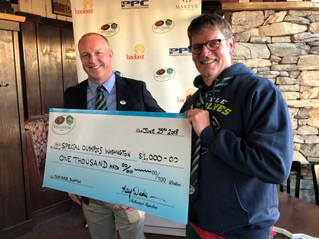 Seattle Saracens Donate $1,000 to Special Olympics Washington