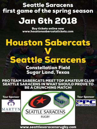 Come and Support the Sarries in Houston, TX!