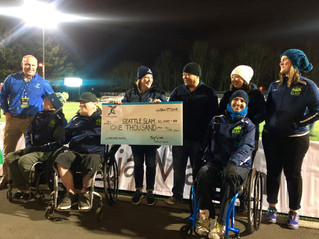 Sarries Donate to Seattle Slam