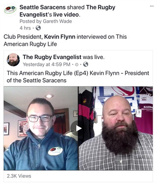 """This American Rugby Life"" - Club President, Kevin Flynn Interviewed"