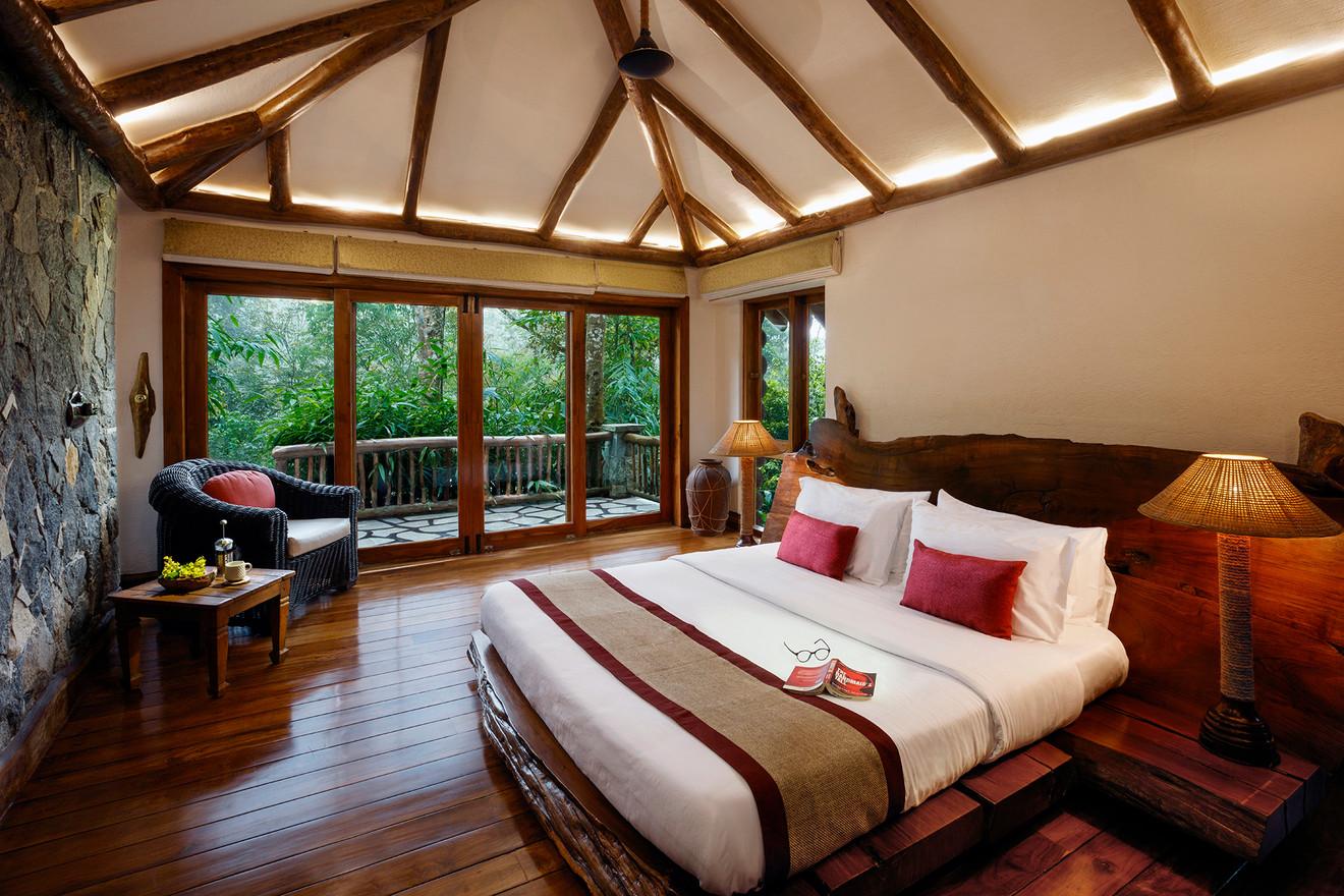 Earthitects Stone Lodges - Bedroom