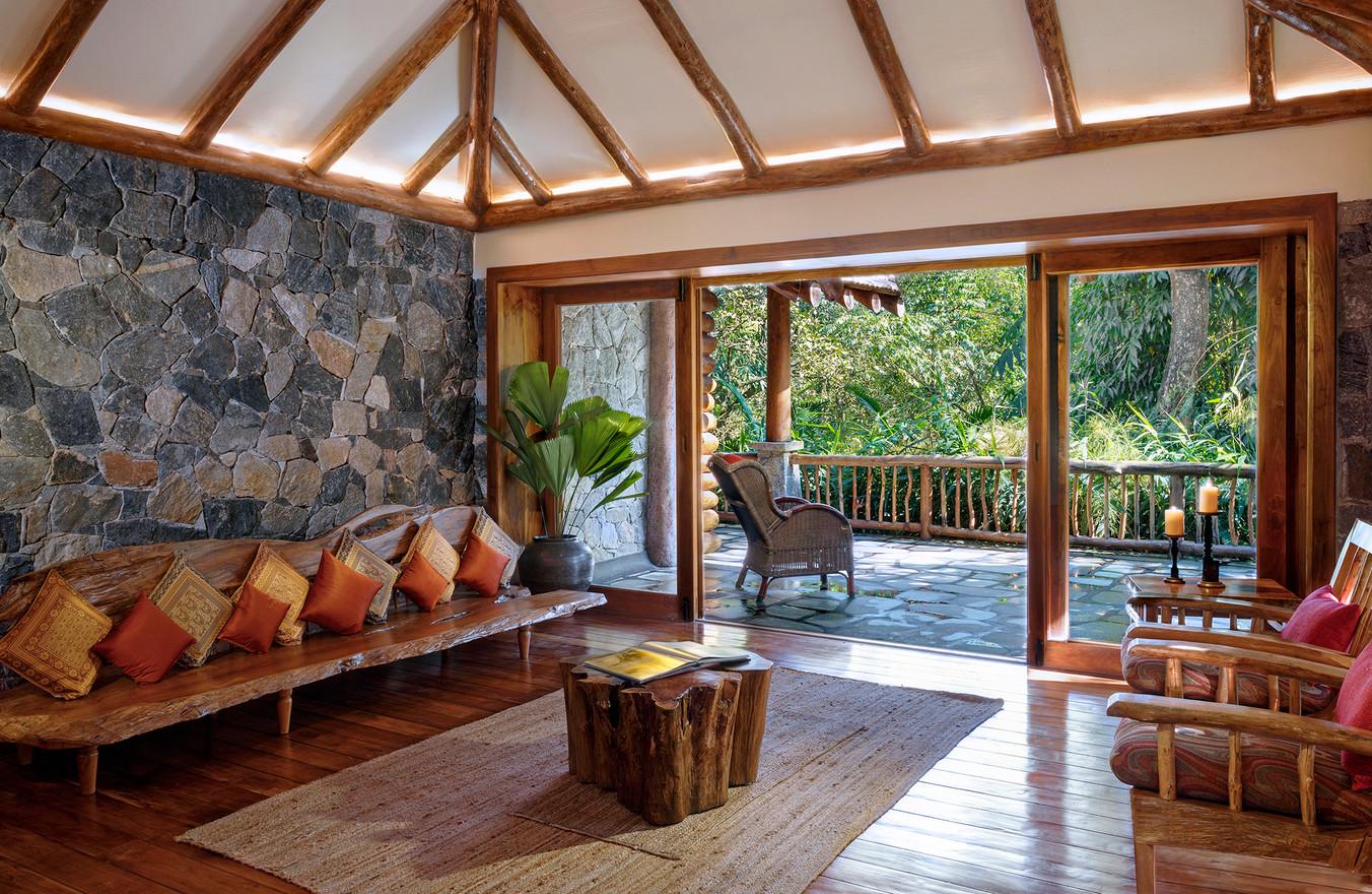 Earthitects Stone Lodges - Living