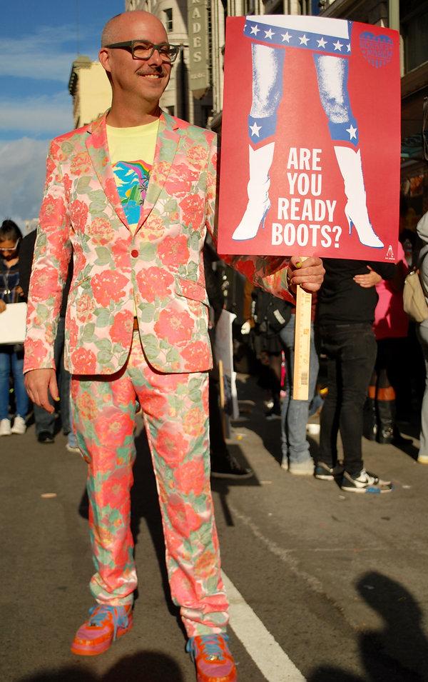 Street Style L.A. Women's March