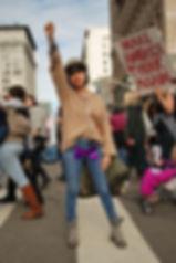L.A. Street Style Women's March 2