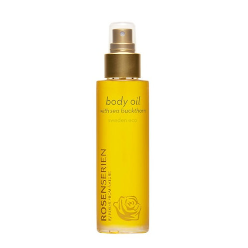 Rosenserien Body oil with sea buckthorn