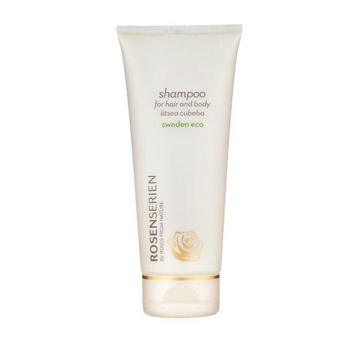 Rosenserien Schampoo for hair and body litsea cubeba