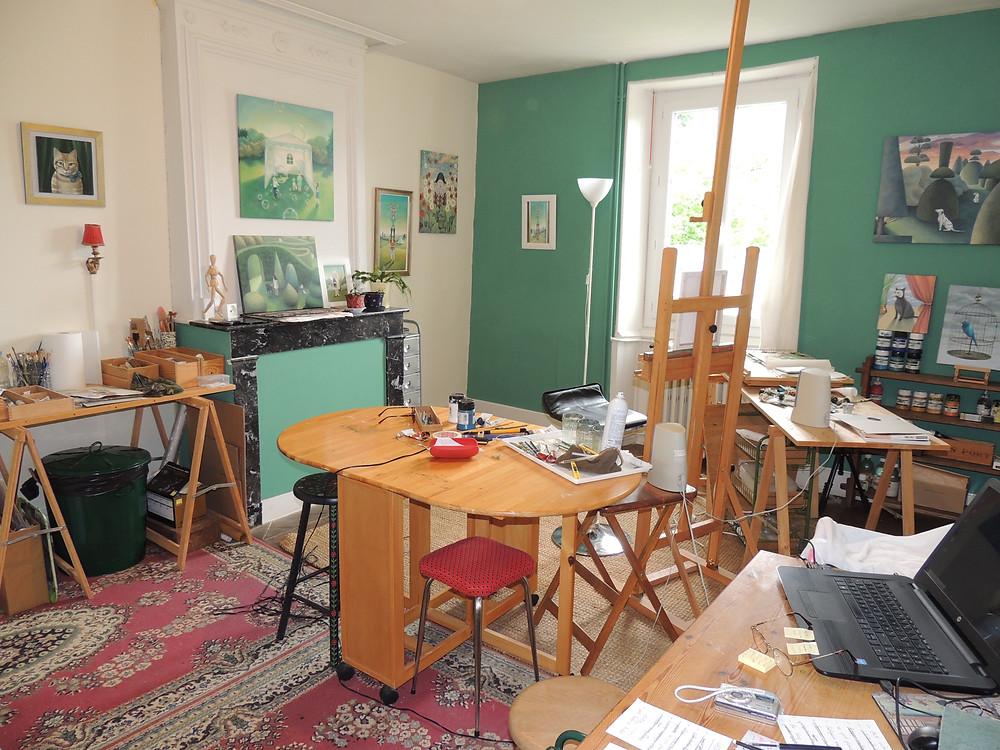 My Studio (my happy place!)