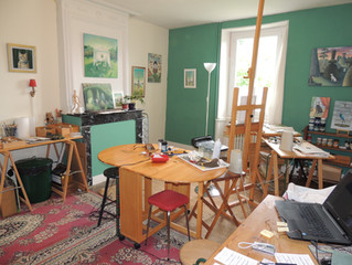 Ramblings of a confined artist (and the trouble with tea)