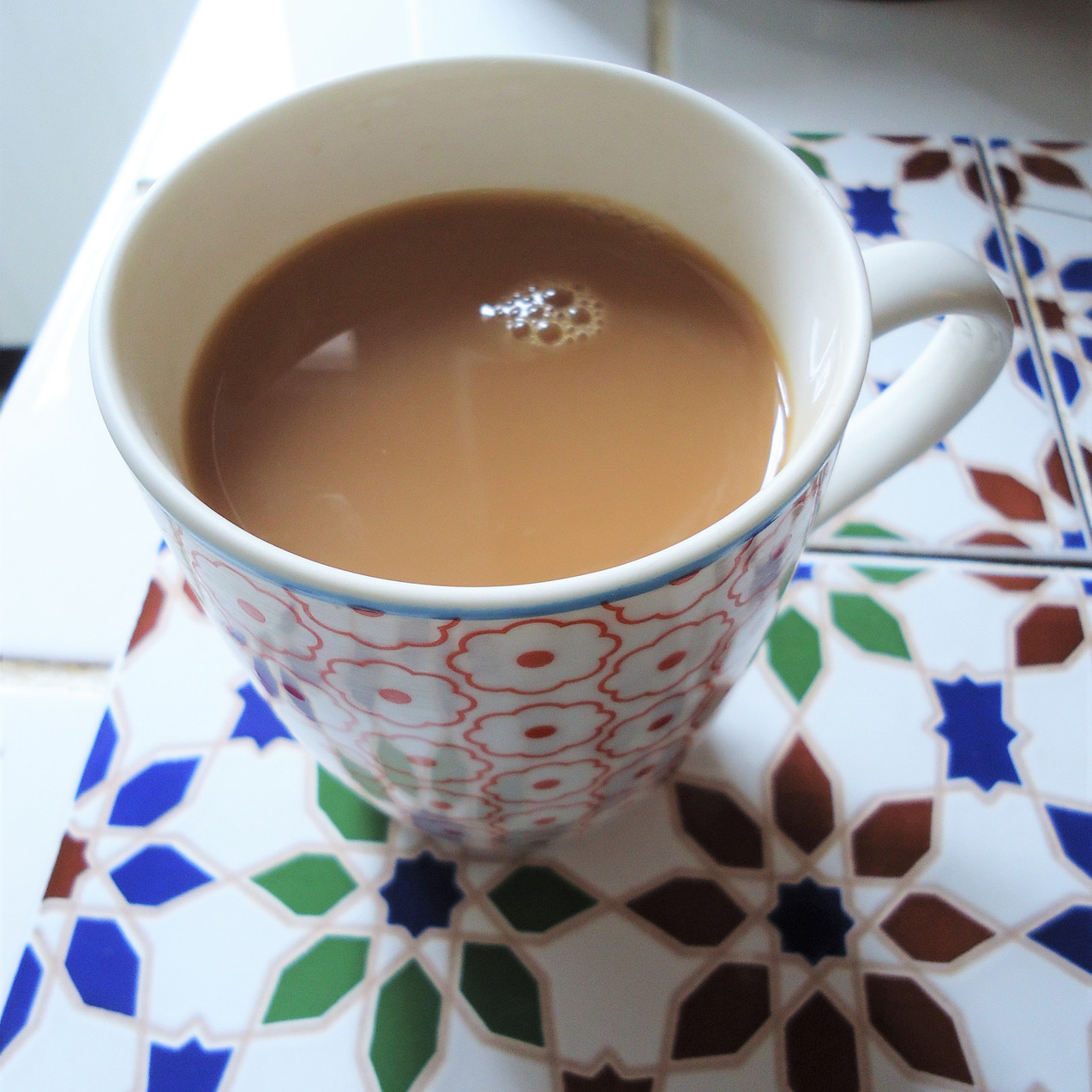 A cup of 'PG Tips' tea.