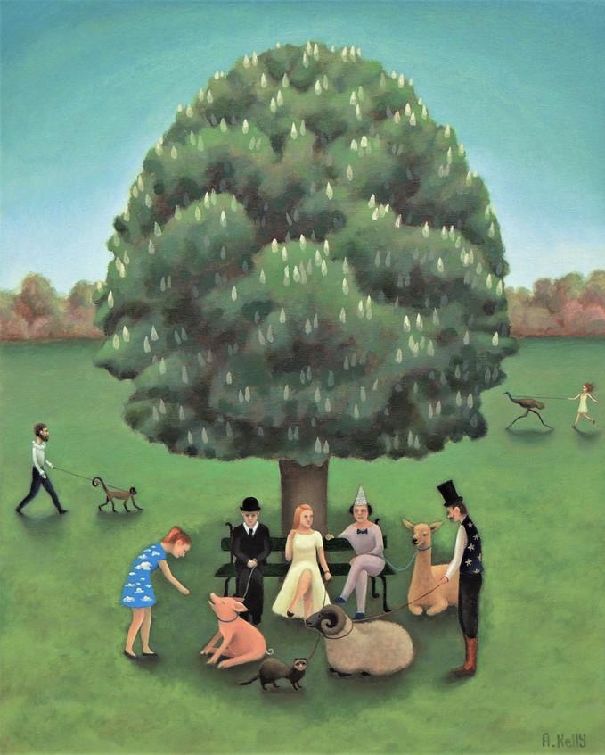 'Meet us Under the Nut Tree'.