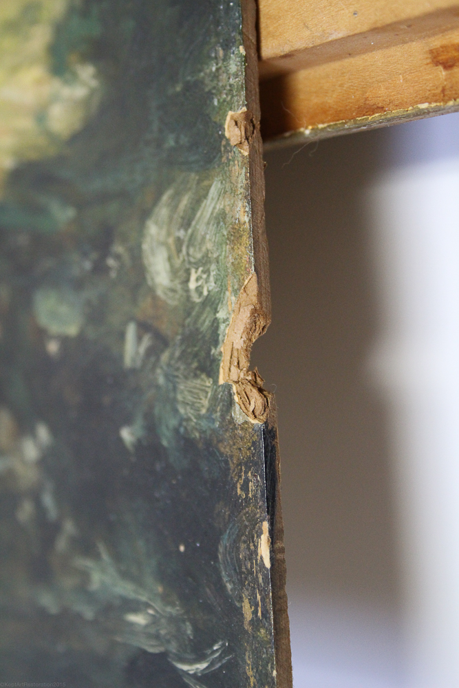 Close up of loss