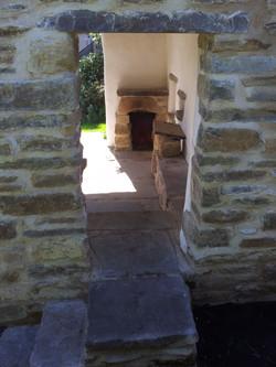 Cubby Roo steps and doorway