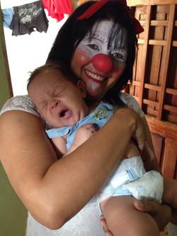 Bebê assistido pelos Doutores
