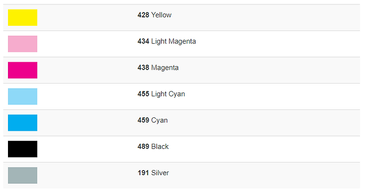 atrament Marabu DI-LSX krta kolorów