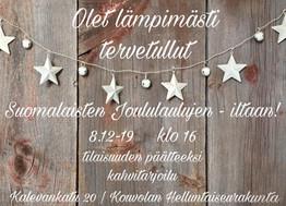 Suomalaisten joululaulujen ilta