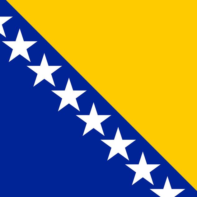 Bosnia ja Hertsegovinan lippu