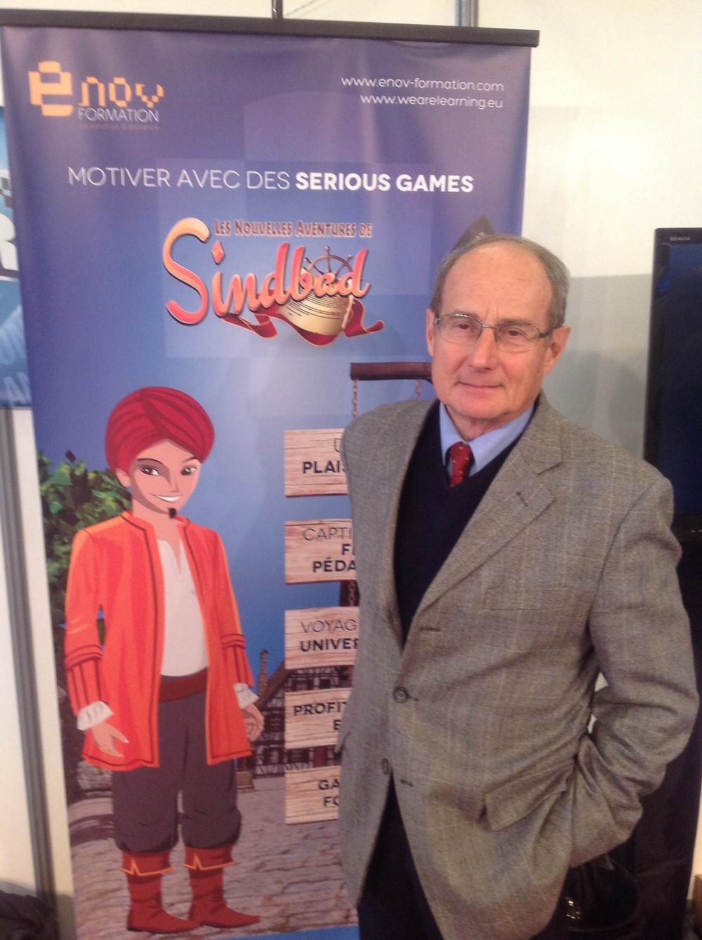 """Scénariste des """"Nouvelles aventures de Sindbad"""""""