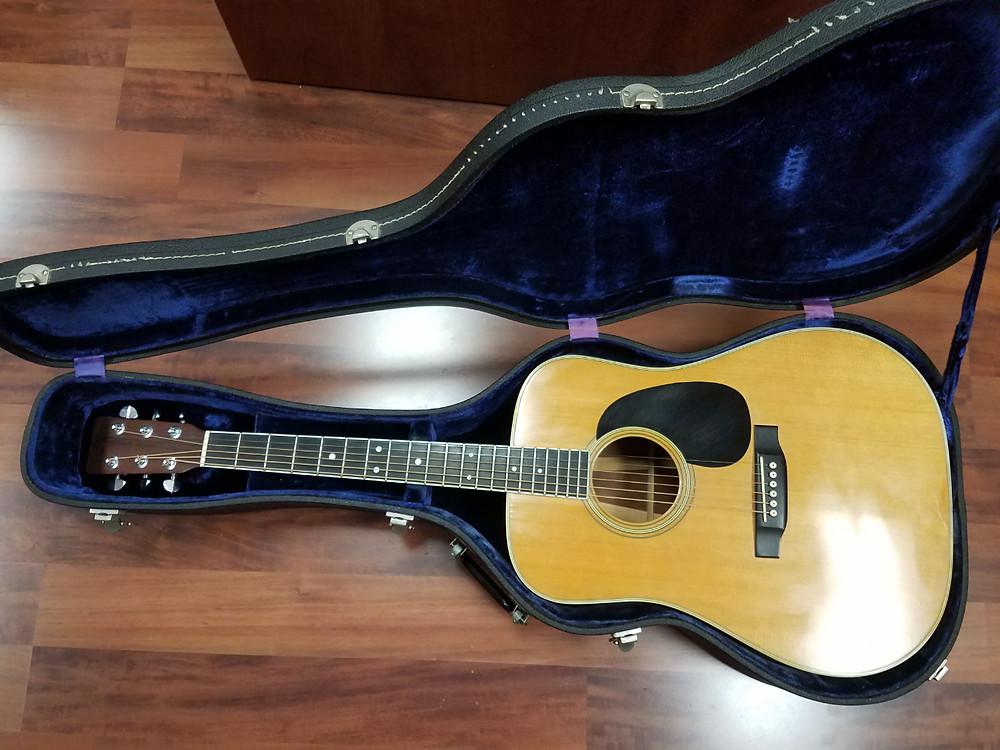 Pawn Loans on 1969 Martin D-35