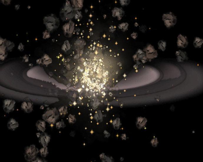 Exploding Halo