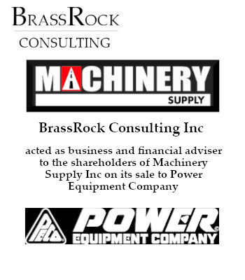 BrassRock Consulting advises on the sale of Marchiner Supply