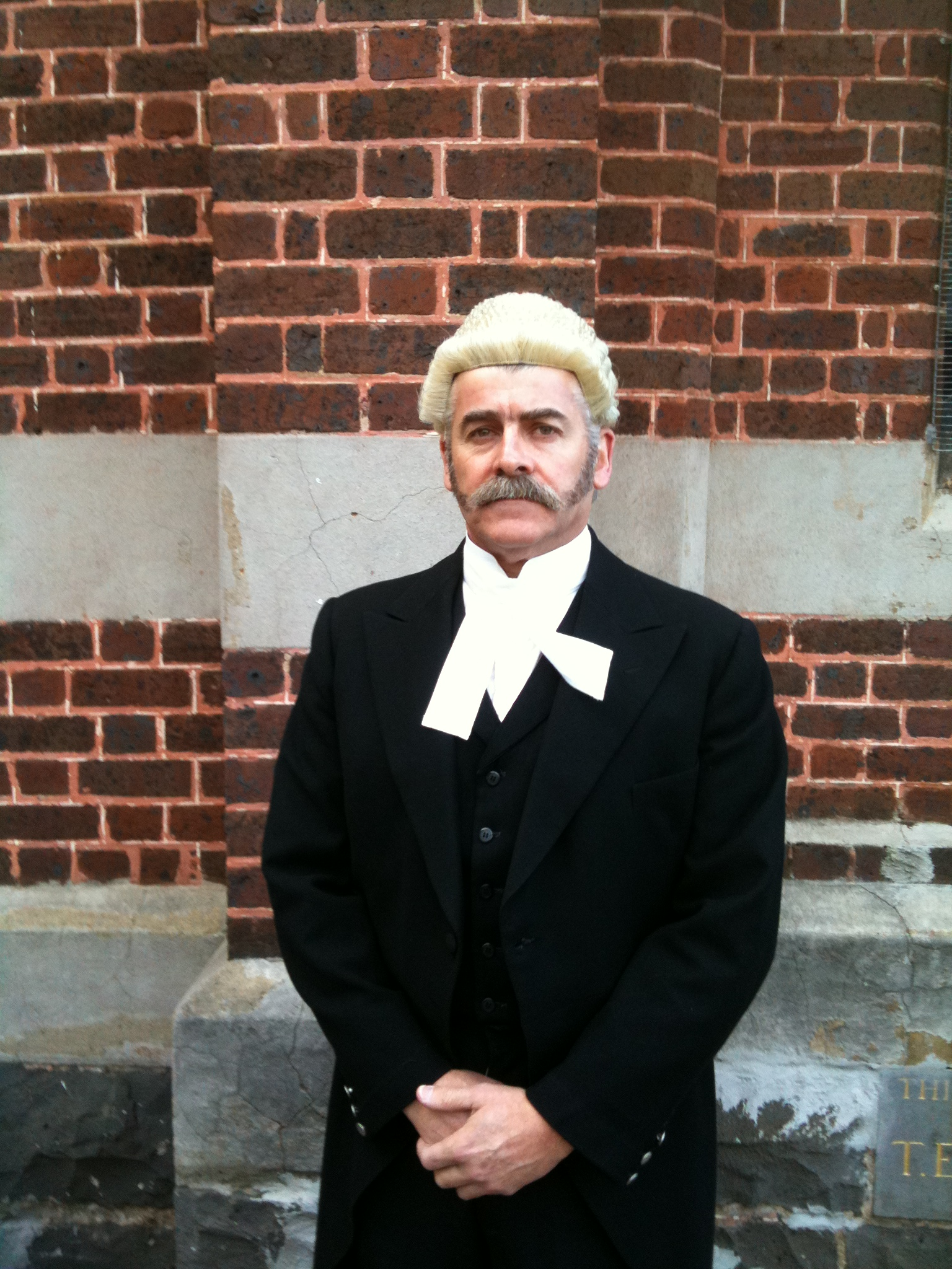 Playing Barrister Gibson