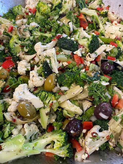 Medium Marinated vegetable salad