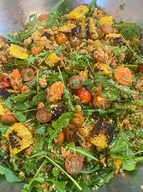Medium Moroccan quinoa salad