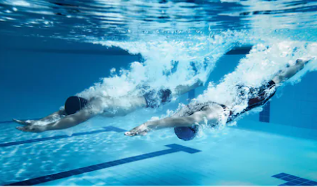 Swimmers may be 5 inches taller than when they last raced!