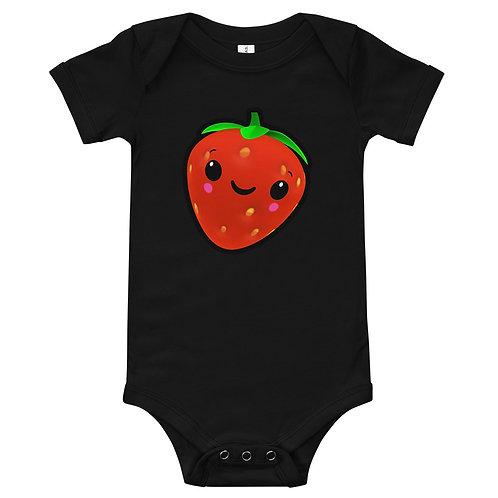One Piece Vest - Strawberry